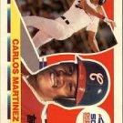1990 Topps Big 116 Carlos Martinez