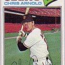 1977 Topps 591 Chris Arnold