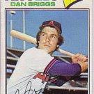 1977 Topps 592 Dan Briggs RC