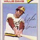 1977 Topps 603 Willie Davis