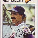 1977 Topps 605 Felix Millan