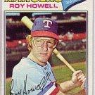 1977 Topps 608 Roy Howell