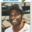 1977 Topps 642 Willie Crawford