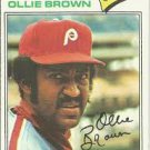 1977 Topps 84 Ollie Brown