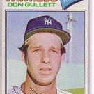 1977 Topps 15 Don Gullett