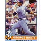 2005 Topps All-Time Fan Favorites 61 George Brett