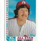 1982 Topps 339 Mike Schmidt AS