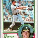 1983 Topps 648 Jeff Burroughs