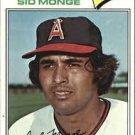 1977 Topps 282 Sid Monge
