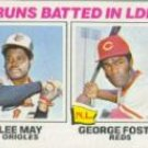 1977 Topps 3 RBI Leaders/Lee May/George Foster
