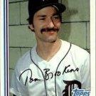 1982 Topps 753 Tom Brookens