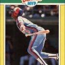 1989 Fleer Baseball MVP's 5 Hubie Brooks