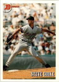 1993 Bowman 514 Steve Cooke