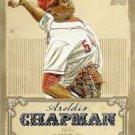 2013 Topps Calling Cards #CC13 Aroldis Chapman