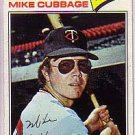 1977 Topps 149 Mike Cubbage