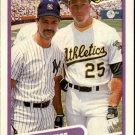 1990 Fleer 638 Don Mattingly/Mark McGwire
