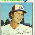 1977 Topps 274 Don Stanhouse