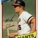 1980 Topps 62 Mike Ivie