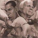 2008 Upper Deck Presidential Running Mate Predictors PP13 Barack Obama/John McCain