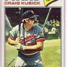 1977 Topps 38 Craig Kusick
