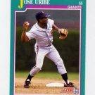 1991 Score 628 Jose Uribe