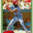 1981 Coke Team Sets 101 Garry Maddox