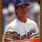 1986 Donruss Highlights #28 Scott Fletcher