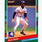 1991 Donruss 507 Ron Gant