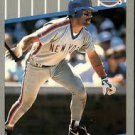 1989 Fleer 28 Wally Backman