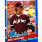 1991 Donruss 47 Darrin Fletcher RR
