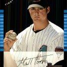 2005 Bowman Draft #67 Matt Torra FY RC