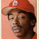 1984 Topps Stickers 141 Willie McGee