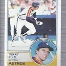 1983 Topps 39 Terry Puhl