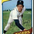 1980 Topps 392 Milt Wilcox