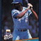 1986 Donruss 175 Willie Wilson