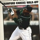 2006 Topps Year in Review YR120 Carl Crawford