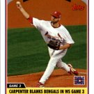2006 Topps Update 199 Chris Carpenter PH
