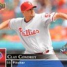 2008 Phillies Upper Deck World Series Champions PP24 Clay Condrey