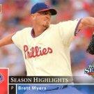 2008 Phillies Upper Deck World Series Champions PP30 Brett Myers HL