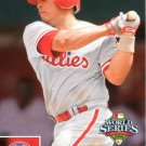 2008 Phillies Upper Deck World Series Champions PP31 Carlos Ruiz HL