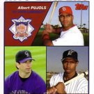 2004 Topps 344 Pujols/Helton/Pierre LL