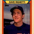 1988 K-Mart 20 Dave Righetti