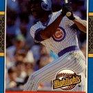 1987 Donruss Highlights 28 Andre Dawson