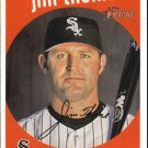 2008 Topps Heritage #268 Jim Thome