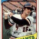 1980 Topps 311 Roger Metzger