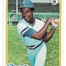 1978 Topps 248 Frank White DP