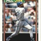 1992 Topps Gold 402 Joe Carter AS