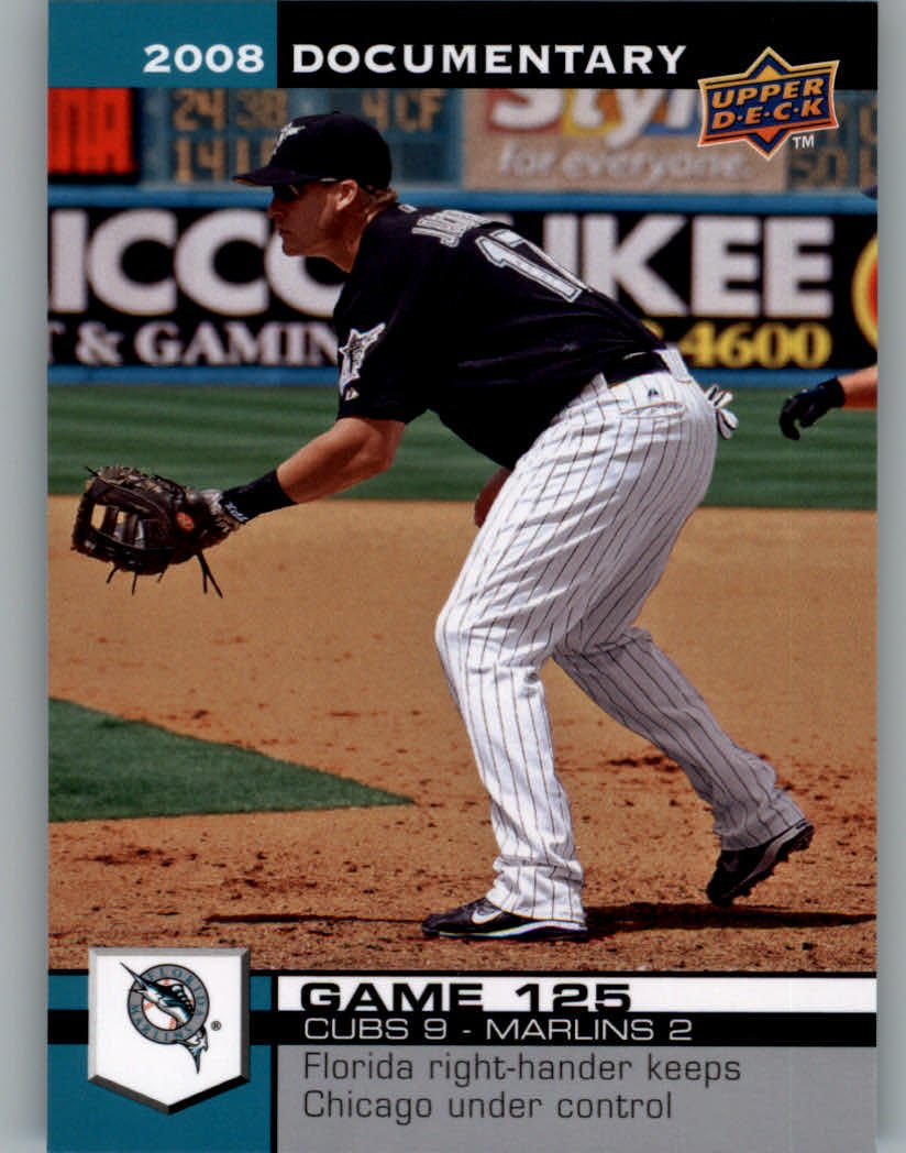 2008 Upper Deck Documentary #3754 Mike Jacobs