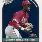 2002 Fleer Tradition Update U336 Jimmy Rollins AS