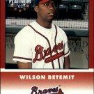 2002 Fleer Platinum 266 Wilson Betemit BB